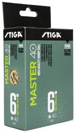 Мячик для настольного тенниса Stiga Master, 40 мм, 6 шт.
