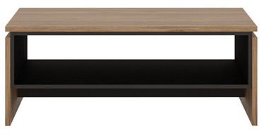 Meble Wojcik Brolo BROT01 Coffee Table Catania Oak/Black Pearl
