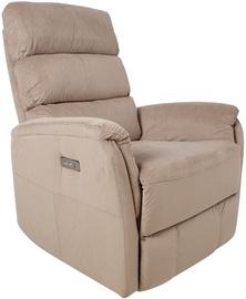 Atzveltnes krēsls Home4you Barclay 13858, bēša/smilškrāsas, 86 cm x 79 cm x 105 cm