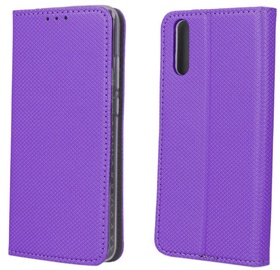 TakeMe Smart Magnetic Fix Book Case For Samsung Galaxy A50 Violet
