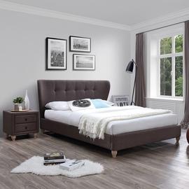 Gulta Home4you Victoria + Harmony Delux Brown, 160 x 200 cm