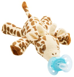 Philips Avents Ultra Soft Pacifier Snuggle Giraffe 0-6m SCF 348/11