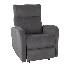 Atzveltnes krēsls Home4you Sahara Grey, 79x90x102 cm