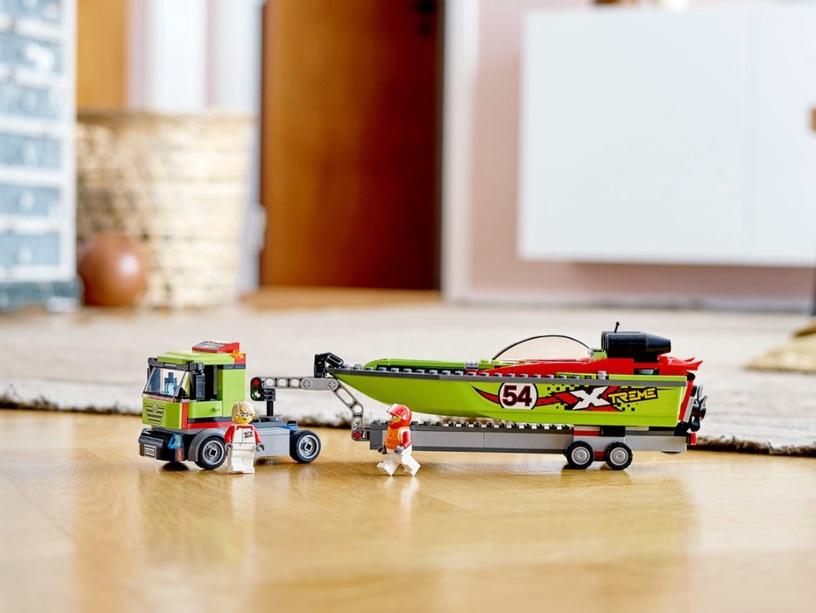 Конструктор LEGO® City 60254 Транспортировщик скоростных катеров