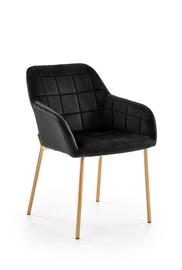 Стул для столовой Halmar K306 Dark Black/Gold, 1 шт.