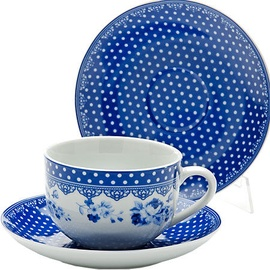 Mayer & Boch Tea Set 22cl Blue 6pcs 25908