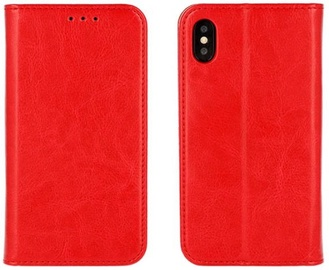 Mocco Special Leather Book Case For Samsung Galaxy J6 J600 Red