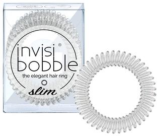 Резинка для волос Invisibobble Slim Hair Rings 3pcs Crystal Clear