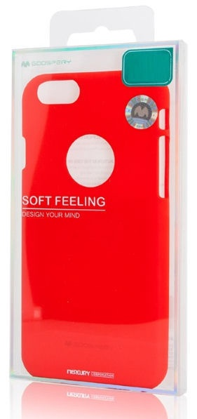 Mercury Soft Surface Matte Back Case For Apple iPhone XS Max Red