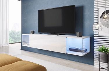 ТВ стол Cama Meble RTV Vigo Sky, белый, 1600x400x300 мм