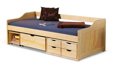 Bērnu gulta Halmar Maxima Pine, 209x96 cm