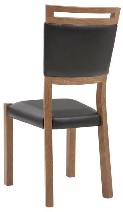 Стул для столовой Black Red White Gent Black, 1 шт.