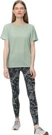 Женская футболка Audimas Dri Release, зеленый, L