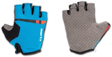 Cube Performance Short Finger Gloves Teamline M
