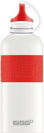 Sigg Water Bottle CYD White Touch Red 600ml