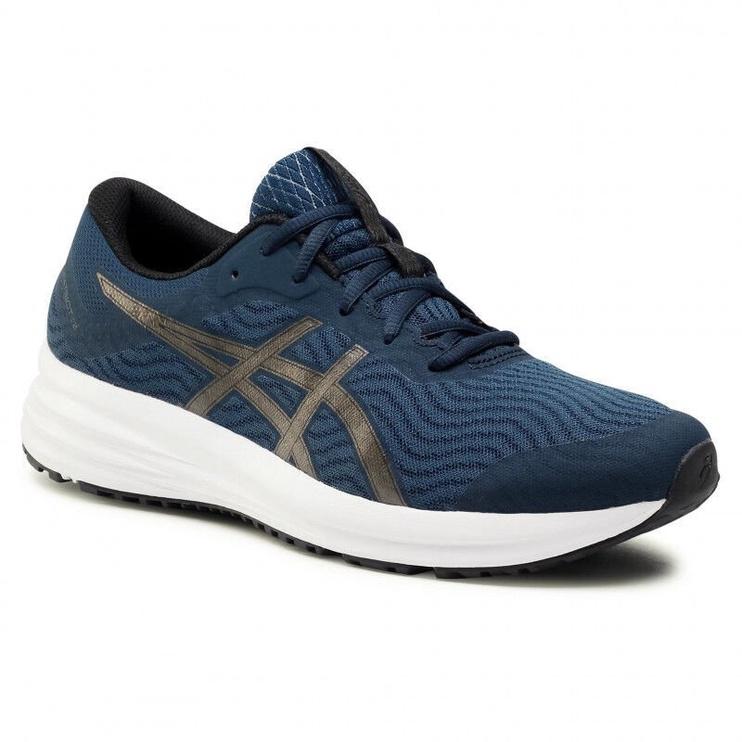 Asics Patriot 12 Shoes 1011A823 402 Blue Gunmetal 43.5