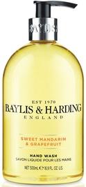 Baylis & Harding Signature Hand Wash 500ml Sweet Mandarin/Grapefruit