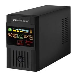 Qoltec UPS Monolith / 1200VA / 720W / LCD / USB