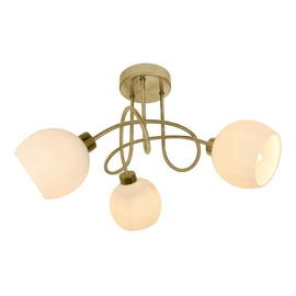 Gaismeklis Domoletti CL16093-3 3x28W Brass