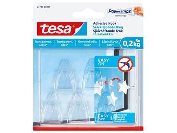 Tesa Powerstrips Adhesive Hook 0.2kg 5pcs