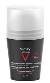 Vīriešu dezodorants Vichy Homme 72h Anti-Perspirant Roll On, 50 ml
