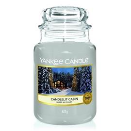 Yankee Candle Large Jar Candle Candlelit Cabin 623g
