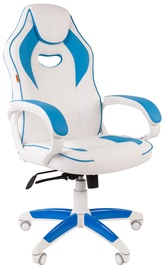 Spēļu krēsls Chairman Game 16 White/Light Blue