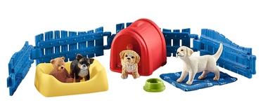 Фигурка-игрушка Schleich Puppy Pen 42480