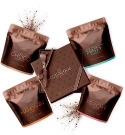 Скраб для тела Cocosolis Luxury Coffee Scrub Box, 280 г, 4 шт.