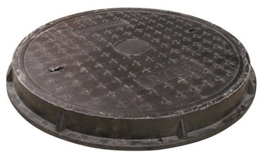 SN Sewer Hatch DN700 6.7x78.5cm Black