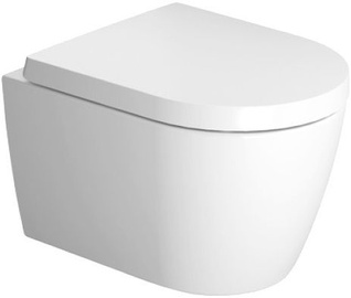 Duravit ME By Starck Compact Rimless 370x480mm
