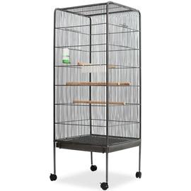 Клетка для птиц VLX 170408, 540 мм x 540 мм x 1460 мм