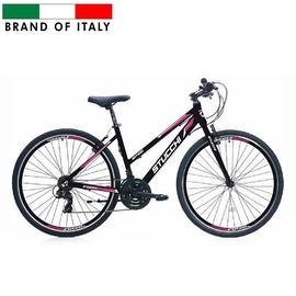 """Велосипед Stucchi MTB LADY 1WX400, черный/розовый, 18"""", 26″"""