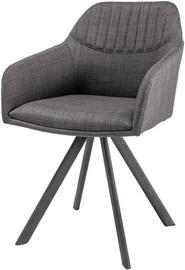 Ēdamistabas krēsls Signal Meble Milton II Gray, 1 gab.