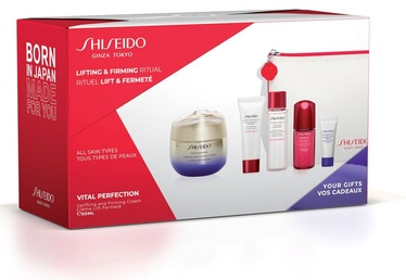Shiseido Vital Perfection Uplifting and Firming Cream Pouch 5pcs Set 110ml