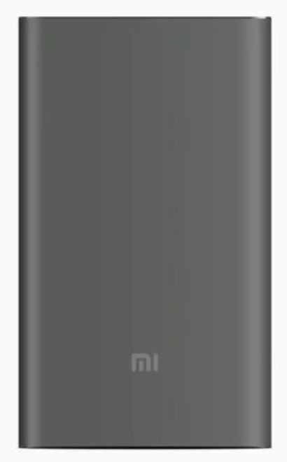 Ārējs akumulators Xiaomi Mi Pro Grey, 10000 mAh