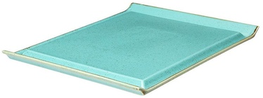 Porland Seasons Steak Plate 32.4x25.9cm Turquoise