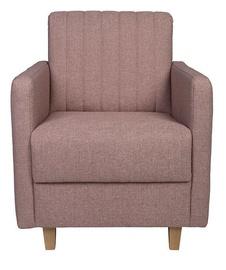 Atzveltnes krēsls Black Red White Beira ES Pink, 74x86x91 cm