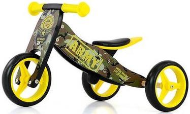 Балансирующий велосипед Milly Mally Jake Ride On Army
