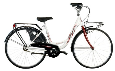 "Velosipēds Bottari Good Bike Siviglia 26"" White"