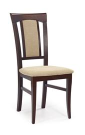 Ēdamistabas krēsls Halmar Konrad Dark Walnut/Torent Beige