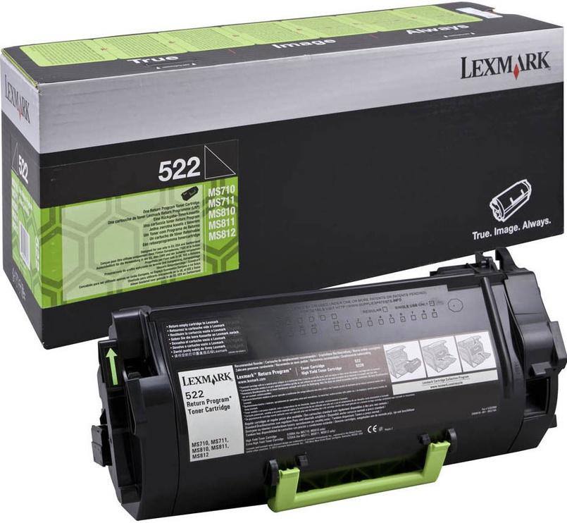 Lexmark 52D2000 Cartridge Black