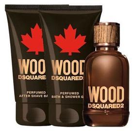 Komplekts vīriešiem Dsquared2 Wood Pour Homme Gift Set 3pcs 150 ml EDT