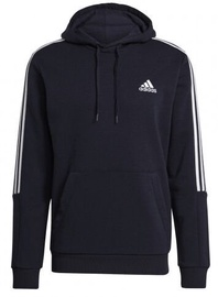 Džemperi Adidas Essentials Fleece 3 Stripes Hoodie GK9584 Blue S