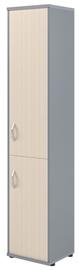 Skyland Imago Office Cabinet SU-1.3 Right Maple/Metallic