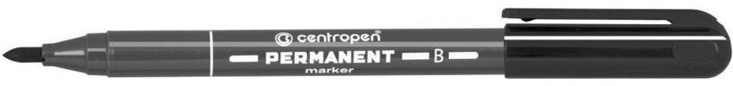 Centropen Permanent Marker 2836 2mm Black