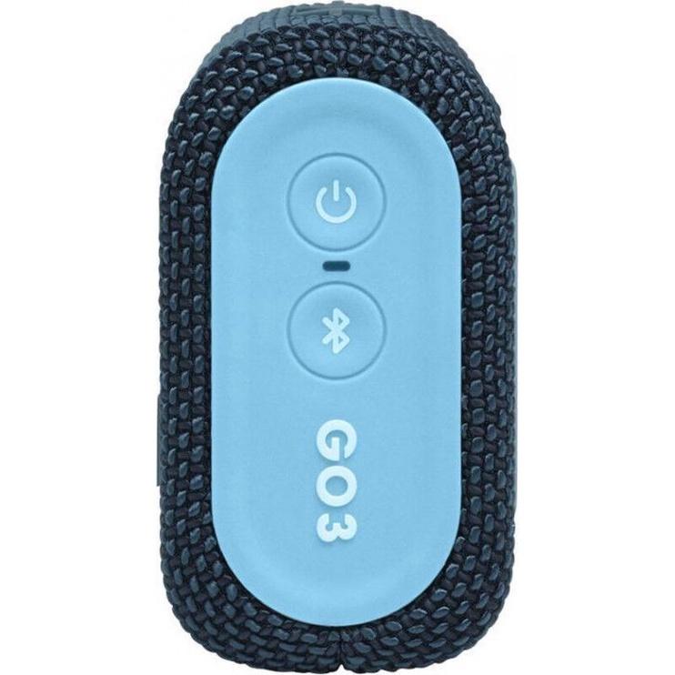 Bezvadu skaļrunis JBL GO 3, zila, 4 W