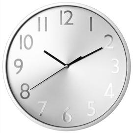 SN Quartz Wall Clock D30cm Silver
