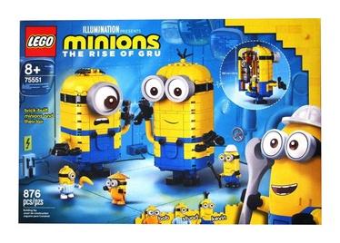 Конструктор LEGO®PT IP 2 2020 75551 Фигурки миньонов и их дом