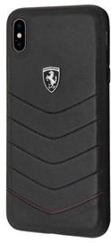 Ferrari FEHQUHCI65BK Back Case For Apple iPhone XS Max Black